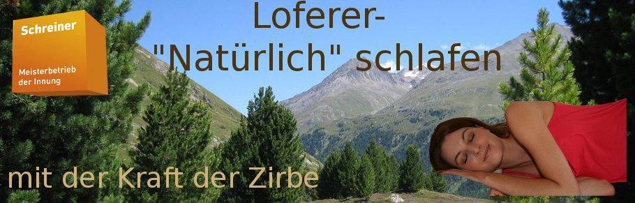 Loferer Zirbenholz